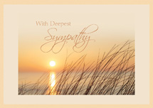 Genuine Beauty Sympathy Cards